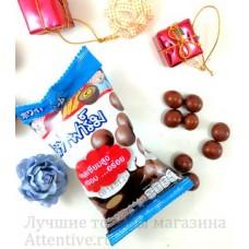 Кальций, детские шоколадные хрустики. 22 гр.