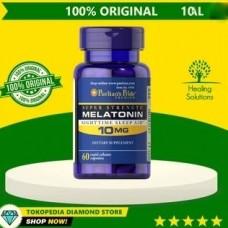 Лечение бессонницы, нарушений сна Мелатонин, на 4 месяца, 10 мг. 60 таблеток.