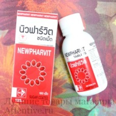 Витамины для мозга, памяти, нервной системы Newpharvit New Pharma, 100 шт.