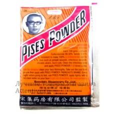 Заживляющая антибактериальная пудра Pises Powder, 15 гр