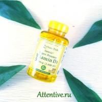 Витамин солнца Д3, Premium, 2000 ME,  50 мкг, на 100 дней, 100 капсул.