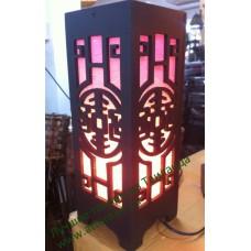 Светильник деревянный в тайском стиле, складной.