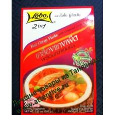 Паста для приготовления соусов и супов Ред кари с кокосовым кремом. Lobo, 100 гр.