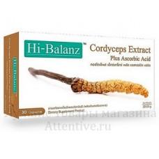 Супер кордицепс, Hi balanz cordyceps, 30 капсул
