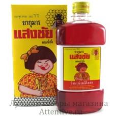Тайский Детский витаминный сироп YA MAN KUMAN San Chang, 360 мл.
