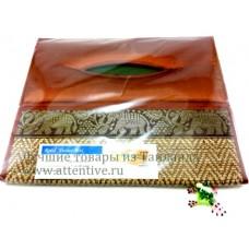 Салфетница, в тайскойм стиле, шелк.