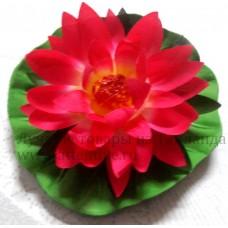 Искусственные водоплавающие цветы, Лилии, 1 шт.