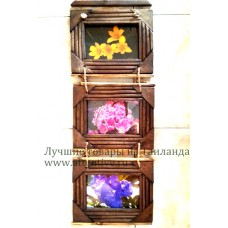 Декор для интерьера, картины в связке, 3 шт.
