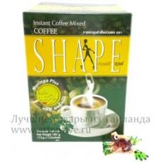 Полезный тайский кофе, правильное похудение Shape, 180 гр.