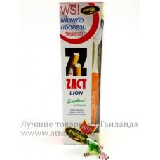 Тайская  зубная паста от налета для курящих, Zact, 160 гр.