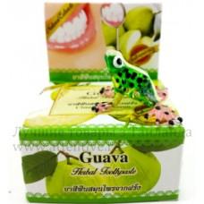 Зубная отбеливающая паста из Таиланда, Гуава, 30 гр.