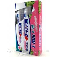 Зубная паста, Salz Herbal Active, набор 3 шт. по 160 гр.