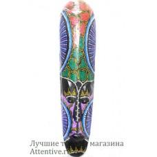 Деревянная настенная маска, тайский стиль, украшение.