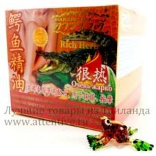 Тайская мазь крокодиловая разогревающая Darawadee, 100 гр.