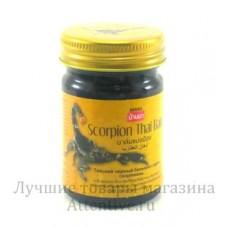 Тайский черный бальзам (мазь) с ядом скорпиона Banna, 50 гр.