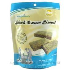 Нежный кунжутный бисквит black sesame biscuits, 126 гр.