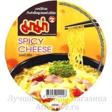 Лапша тайская, острый сыр Spicy Ceese, Mama, 63 гр.