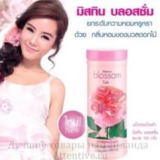 Парфюмированный тальк для тела Blossom Pink Rose Mistine, 100 гр.