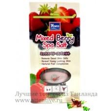 Соль массажная, обогащенная экстрактами растений, 300 гр.