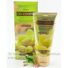 Золотой Кокон крем омолаживающий для лица Co-Coona Mistine, 40 гр.