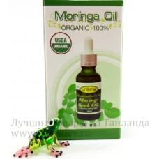 Моринга, масло семян, 100% Organic, 30 мл.