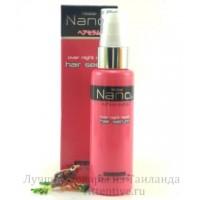 Ночное лечение, несмываемая сыворотка для волос Mistine Nano Over night Repair,  50 мл.