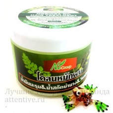 Лечение, восстановление волос маска Moringa Oil, 300 гр.