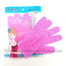 Массажная перчатка-скраб для лица и тела