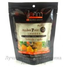 Натуральное тайское мыло Мочалка Supaporn 70 гр.