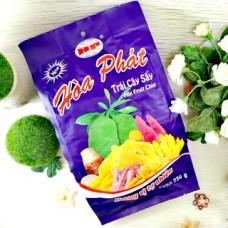 Фруктовые чипсы микс, полезный суперфуд. Hoa Phat Mix Fruit  230 гр.