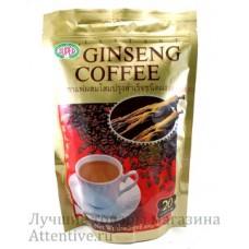 Тайский кофе женьшень и сливки Super Coffee, 400 гр. 20 саше пакетов
