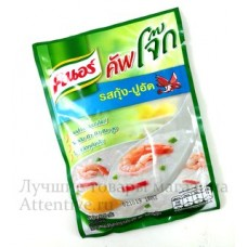 Вкуснейшая тайская рисовая каша с креветками Knor, 35 гр.