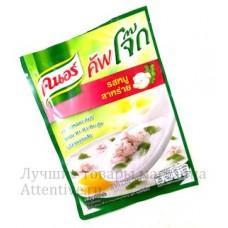 Вкусная тайская рисовая каша с водорослями и свининой Knorr, 35 гр.