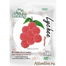 Сливочные жевательные конфеты с натуральным соком Личи, My Chewy 100 шт.