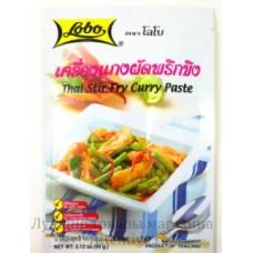 """Тайская приправа для приготовления  жаркого """"Stir-fry carry paste"""", 60 гр."""