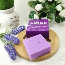 Черника ягодное мыло, для лица, омолаживающее, Amice 70 гр.