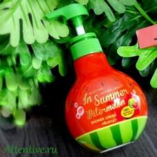 Арбузный крем  для душа, Mistine Natural Beauty In Summer Watermelon, 400 мл.