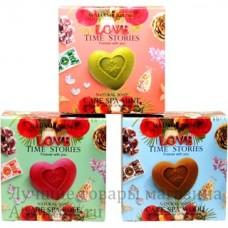 Великолепный подарочный набор, мыло Madame Heng Love Time Stories., 3 шт.