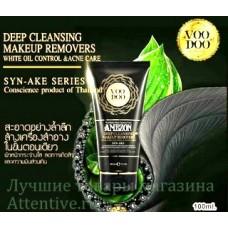 Змеиная пенка для снятия макияжа Amezon Syn-Ake, 100 мл.
