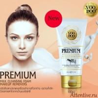 Премиум пенка для нежного очищения кожи VOODOO PREMIUM MILK CLEANING, 100 мл.