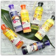 Тайский набор для волос, шампунь и кондиционер Banna, 360 мл.