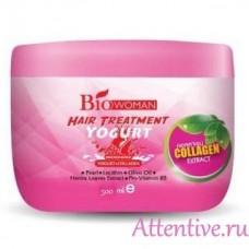 Органическая маска для волос Bio Women Yogurt, 500 мл.