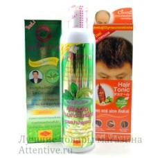 Лечение выпадения волос, комплекс, 3 эффективных средства.