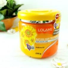 Питательная, сохраняющая цвет маска для волос Lolane Hair Treatment (с экстрактом подсолнечника) 250мл