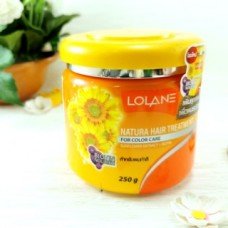 Питательная, сохраняющая цвет маска для волос Lolane Hair Treatment 250 мл