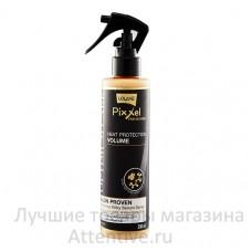 Несмываемая профессиональная сыворотка спрей для волос, Lоlane Pixxel Volume Optimum Care, 200 мл.