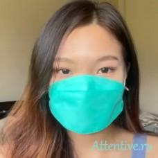 Маска лицевая защитная антивирусная,  4 слоя KF94, 10 шт.