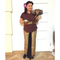 Костюмы для массажистов, тайская одежда для персонала.