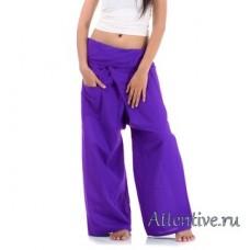 Штаны для клиентов, массажистов массажных и спа салонов, длинные.
