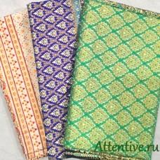 Тайская национальная ткань для спа, метражом, цена за метр.